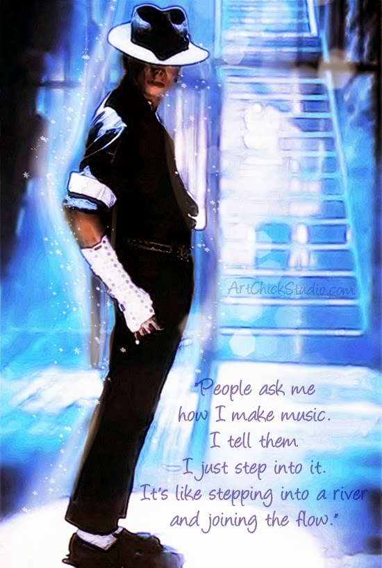 Step Into It Michael Jackson Art