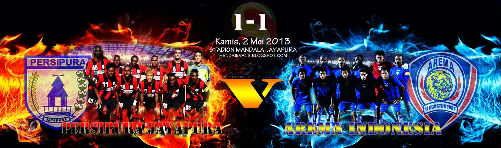 Indonesia Super League, Kamis, 2 mei 2013 PERSIPURA VS AREMA INDONESIA