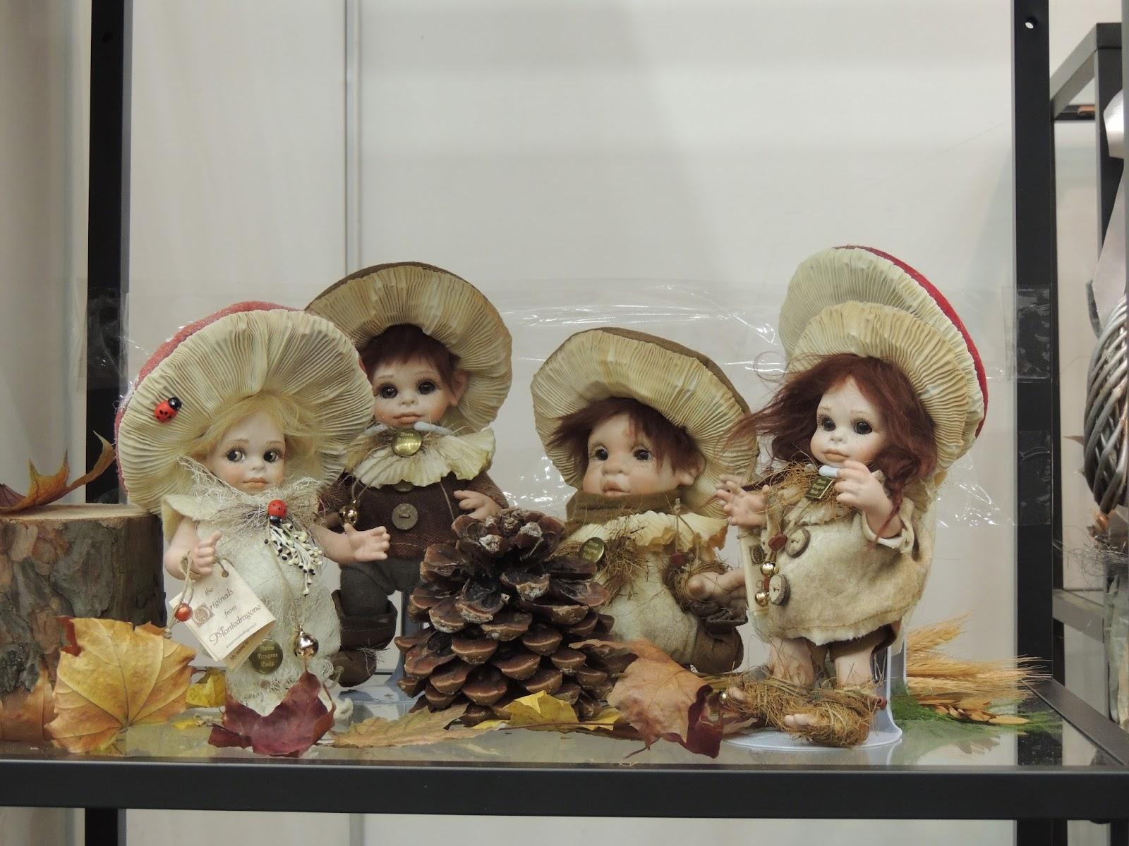 куклы,выставка,тишинка,салон,москва,грибы