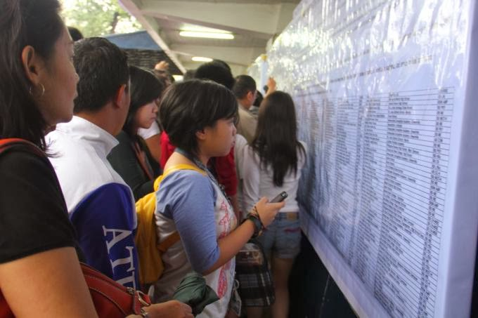 ACET results 2014 out online