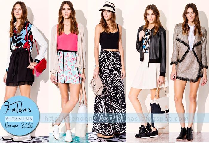 faldas de moda verano 2016 Vitamina