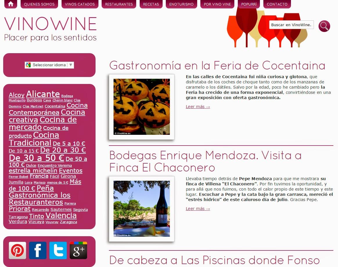 Entrevista a Jose Ruiz del blog vinowine