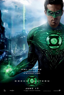 Green Lantern One Sheet Movie Poster - Ryan Reynolds as Hal Jordan