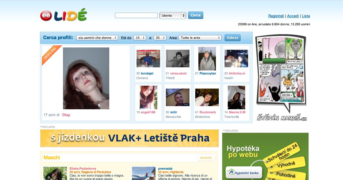 trovare ragazze online