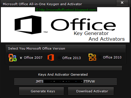 Microsoft Office 2007 activator