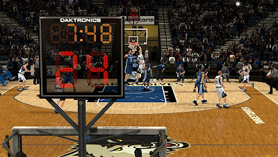 NBA 2K13 Minnesota Timberwolves Court NBA2K Update