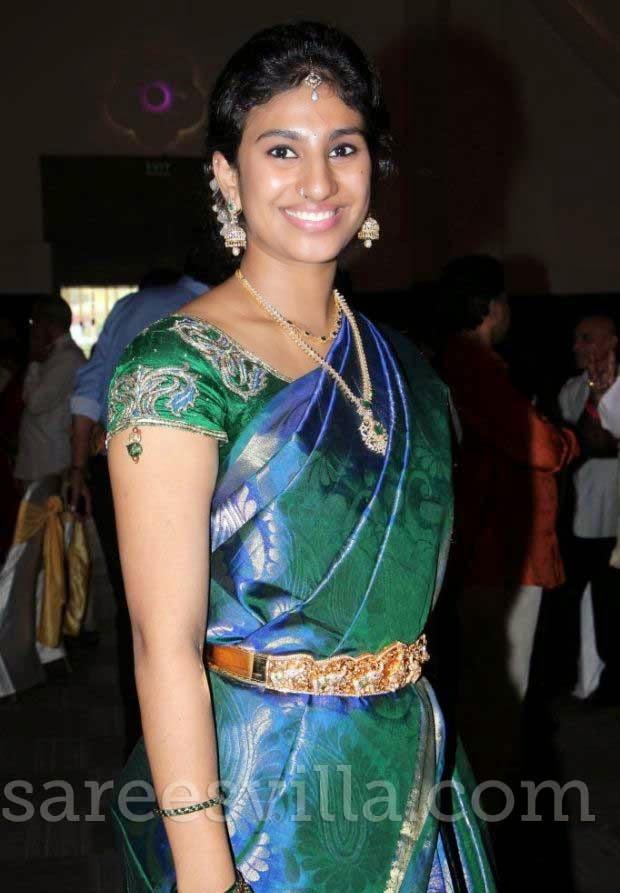 Guest in Uppada Silk Saree