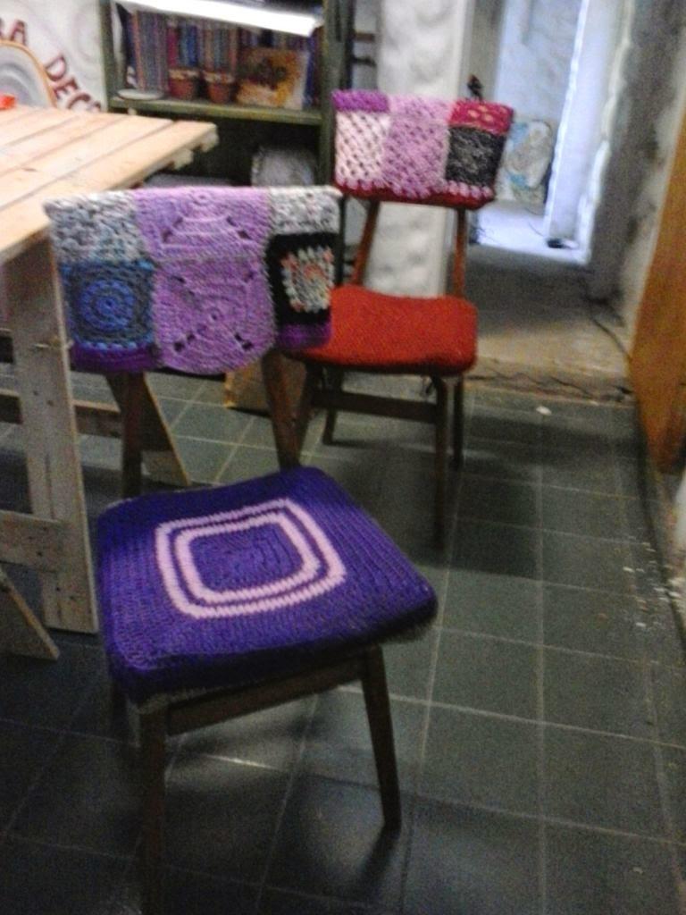Tejidos en crochet y dos agujas motivos navide os y for Tejidos decoracion hogar