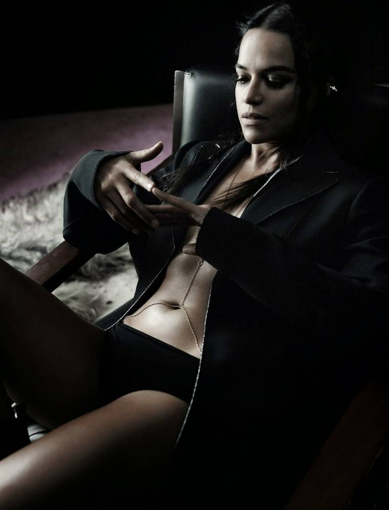 michelle rodriguez by gregory harris for interview magazine feb 2015
