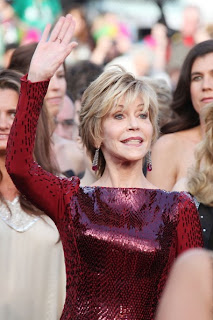 Jane Fonda Short Hairstyle at the Cannes International Film Festival 2012