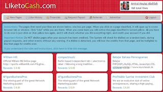 screenshot liketocash.com