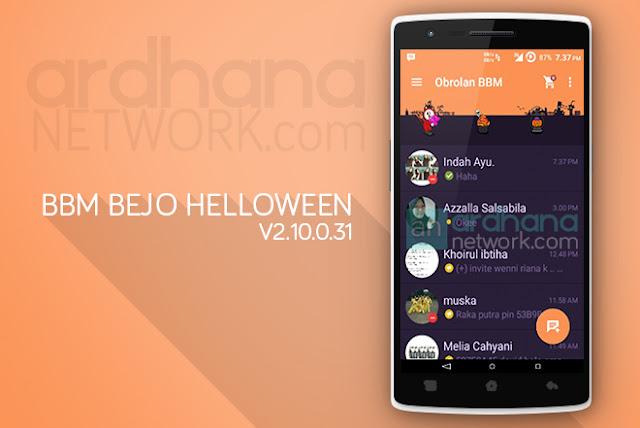 BBM Bejo Helloween V2.10.0.31