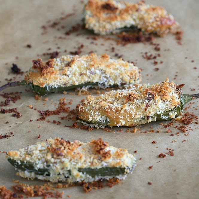 Baked Vegan Jalapeno Poppers for Superbowl. Vegan Recipe - Vegan Richa