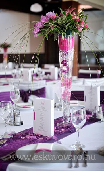 Esküvőváró blog: Lila-magenta esküvői kiegészítők