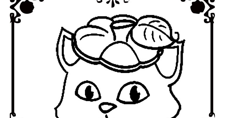 halloween cat and pumpkin coloring pages realistic