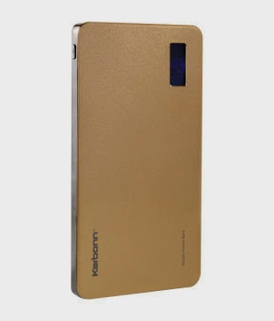 Buy Karbonn Polymer 10 PowerBank (10000mAh) Rs. 1,640 only at Snapdeal.