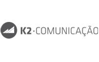 Logo oficial da agência K2 Comunicação - Marketing Digital