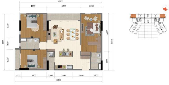 Dự án The Everrich Infinity Quận 5 căn hộ 7