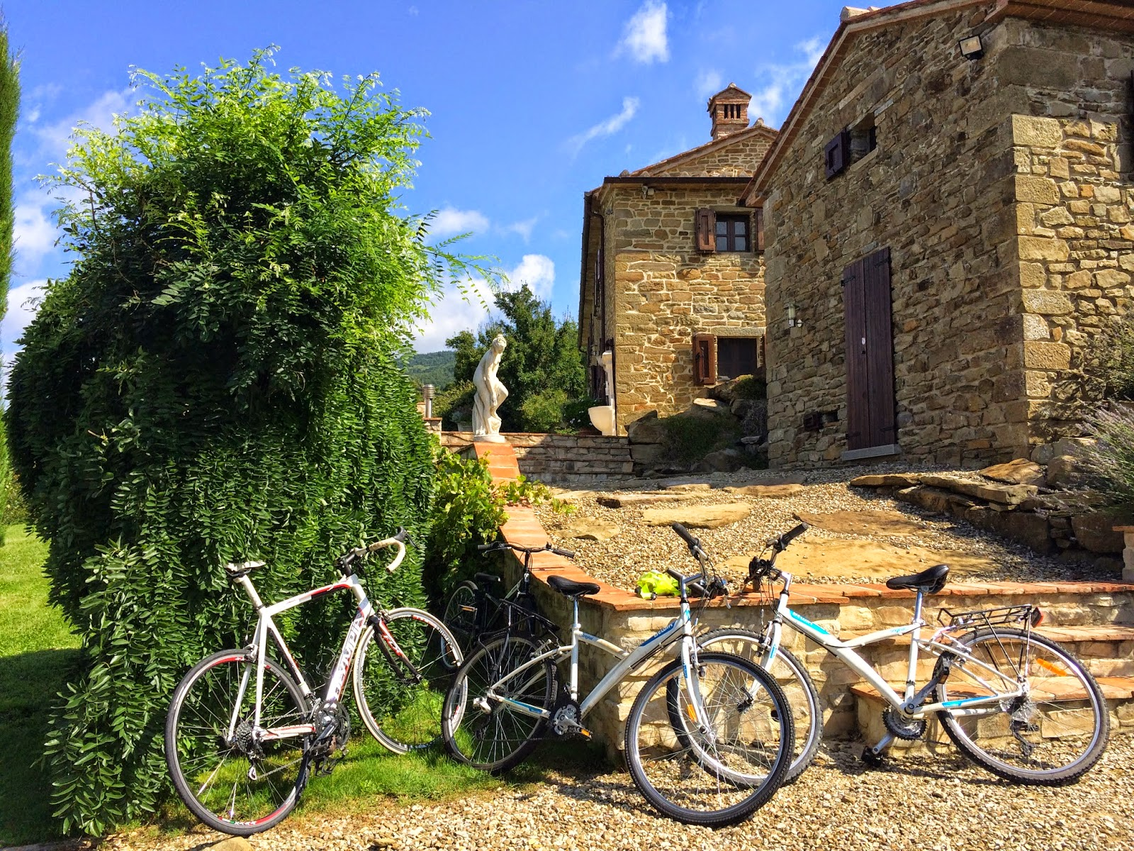 bicycle hire cortona tuscany