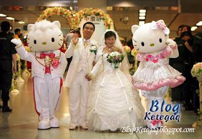 Perkahwinan bertemakan filem atau rancangan tv