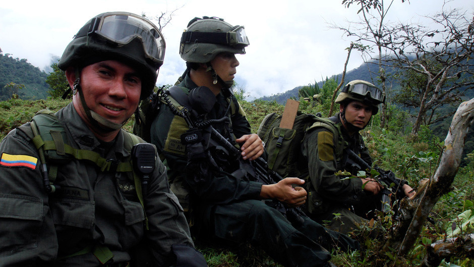Comandos [J.U.N.G.L.A] Policía Nacional de Colombia | Ejército de ...