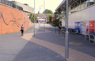 Hanley Tesco pathway