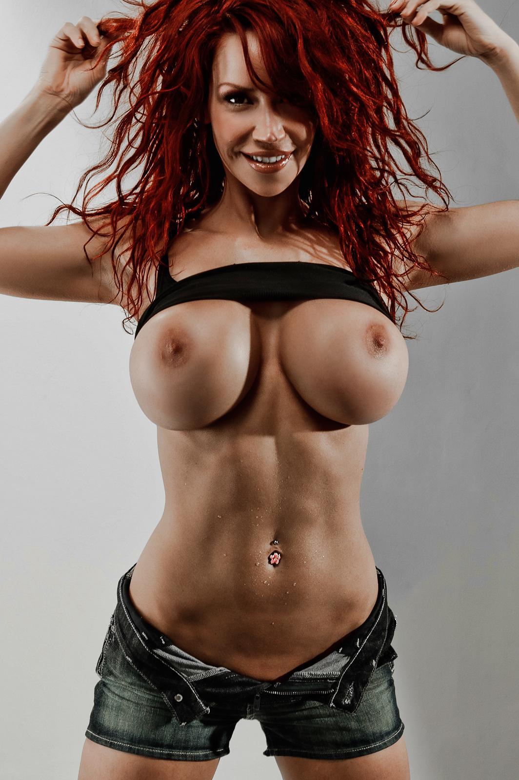 perfect fake boobs naked