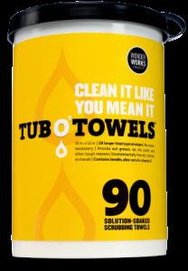 Free Sample of TUB O'TOWELS