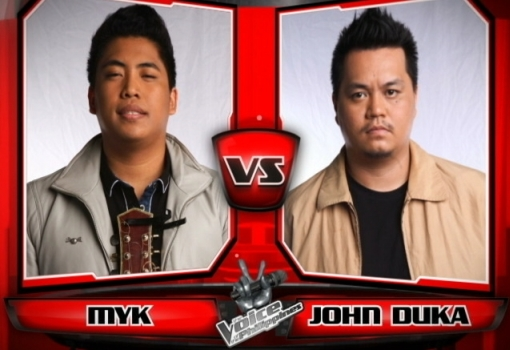 Myk Perez vs John Duka | The Voice of the Philippines Battle Rounds