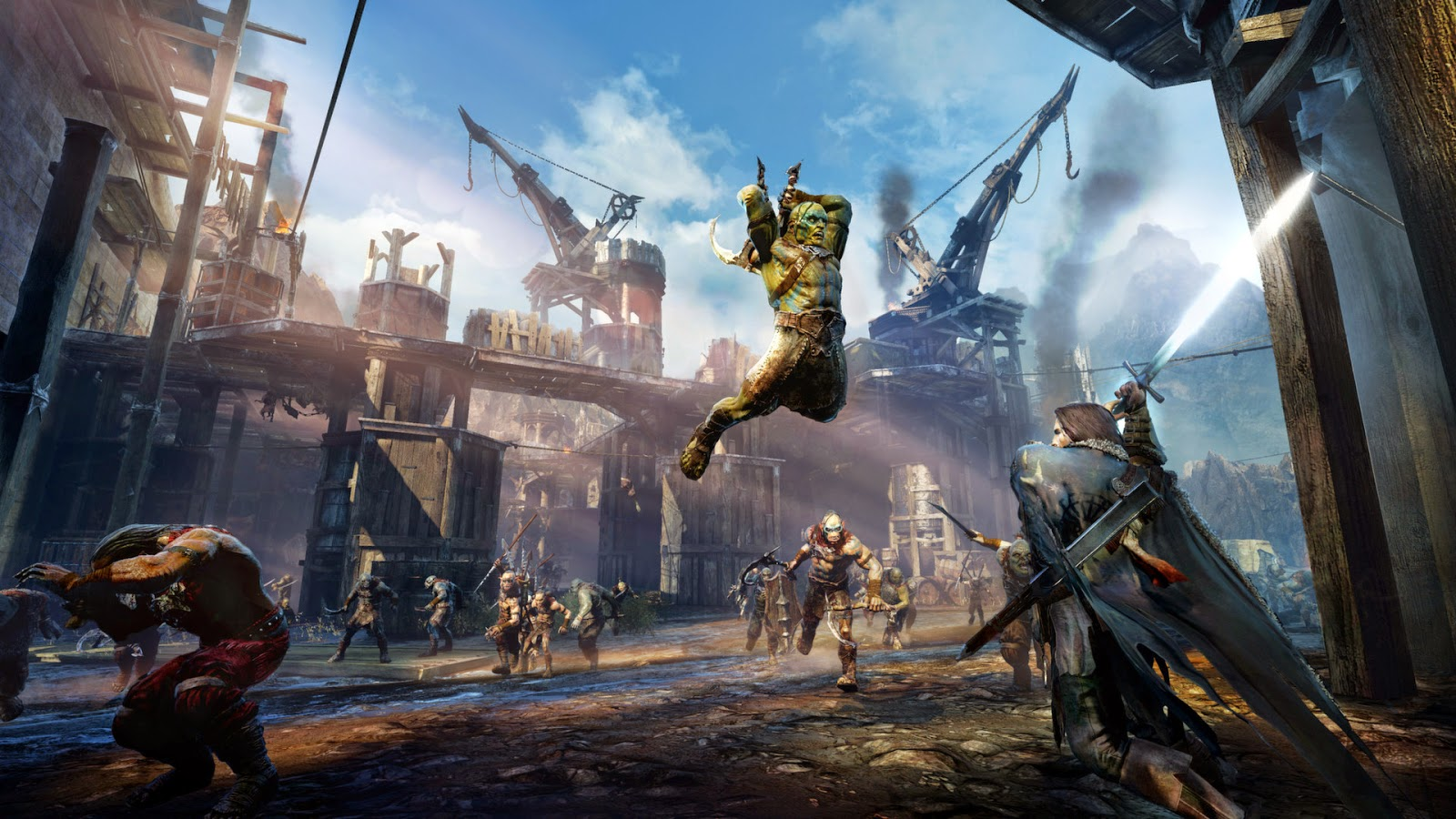 Middle Earth: Shadow of Mordor gameplay