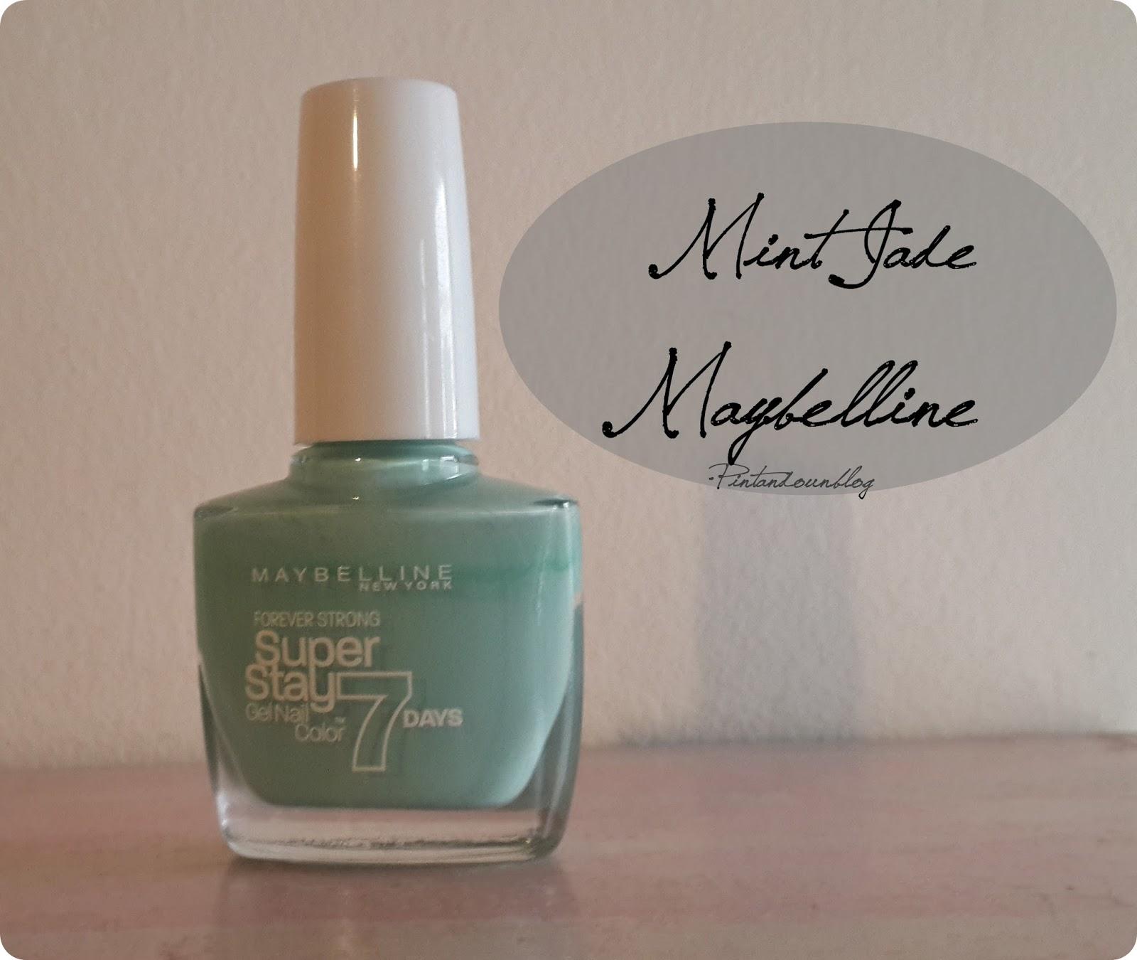 Pintando un blog: Mint Jade - Maybelline