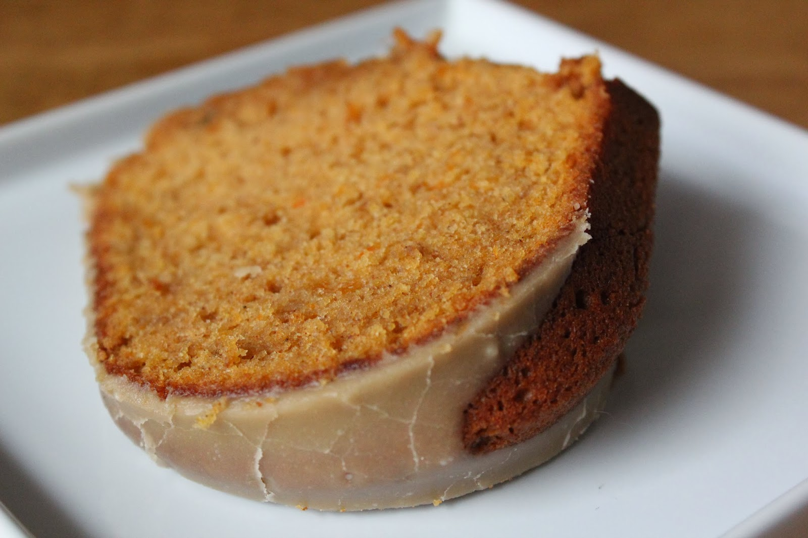 Spiced Sweet Potato Cake with Brown Sugar Icing