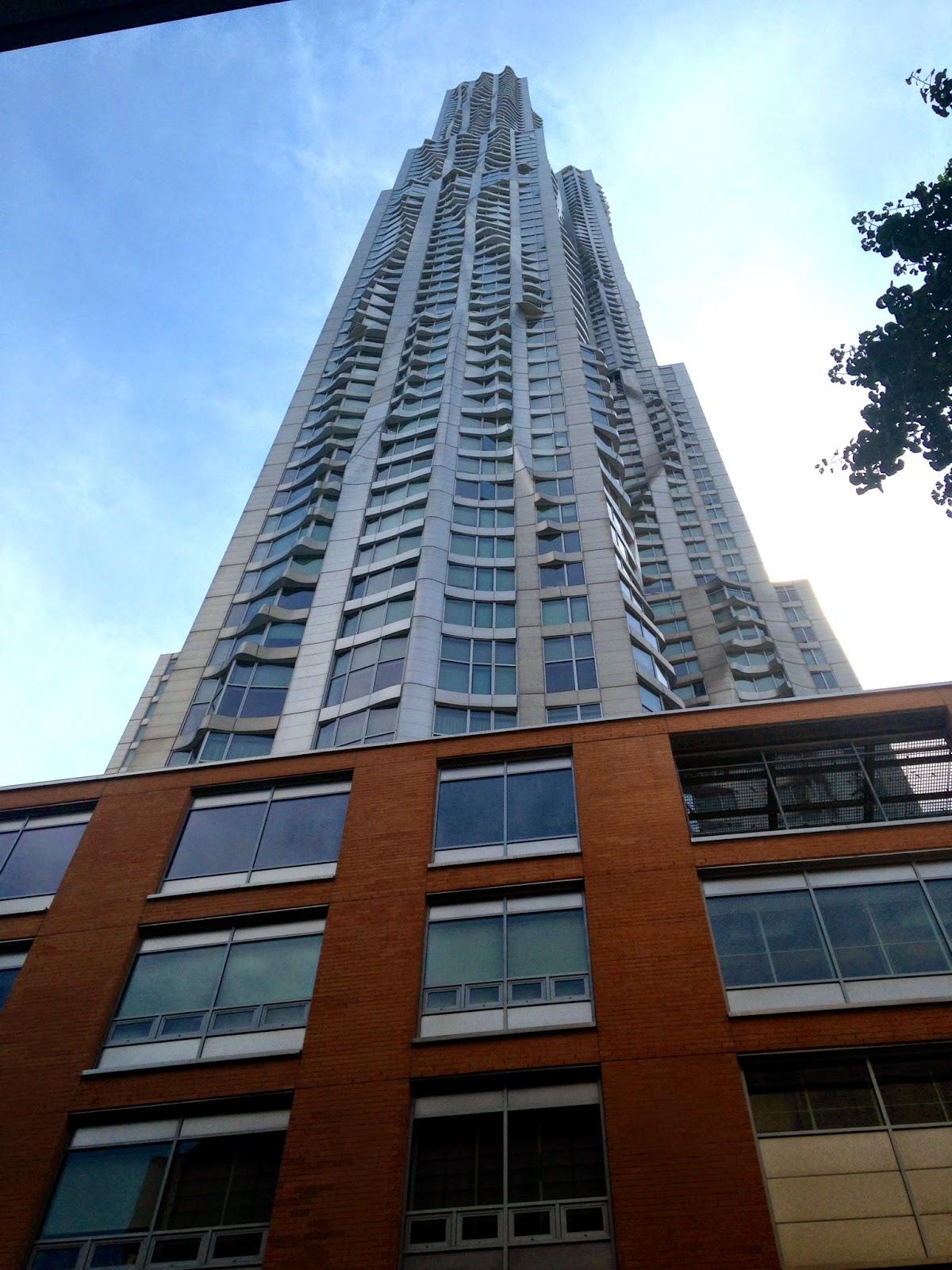 manhattan squiggle building
