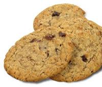 Cookies, Oat, Raisin