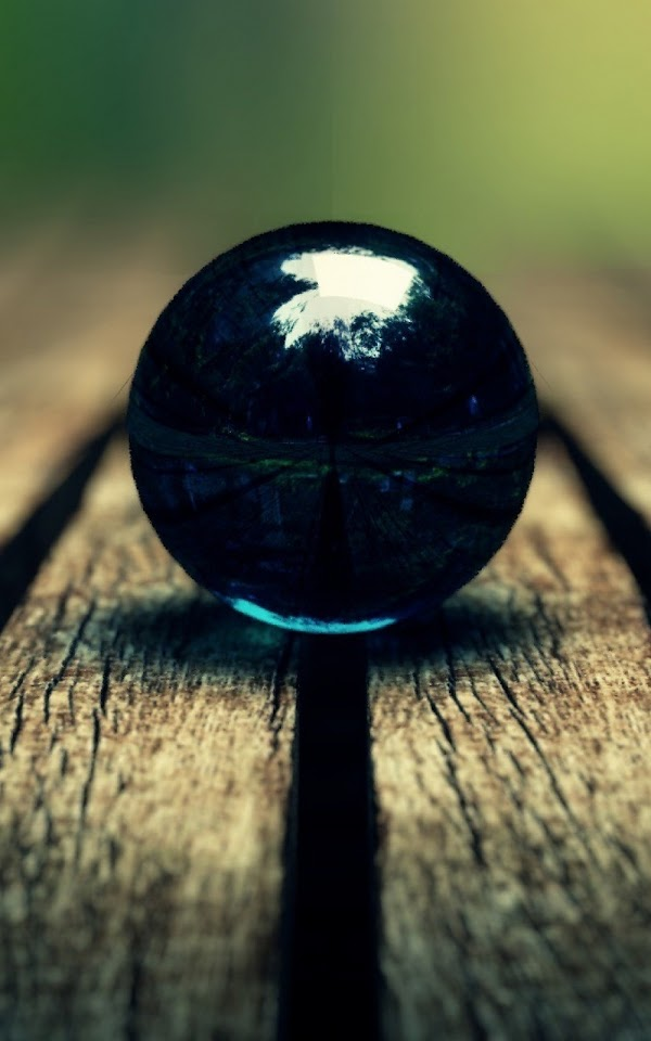 Black Marble On Wood Macro  Galaxy Note HD Wallpaper
