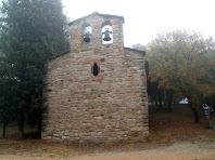 Façana de ponent de l'ermita de Sant Quirze de Subiradells