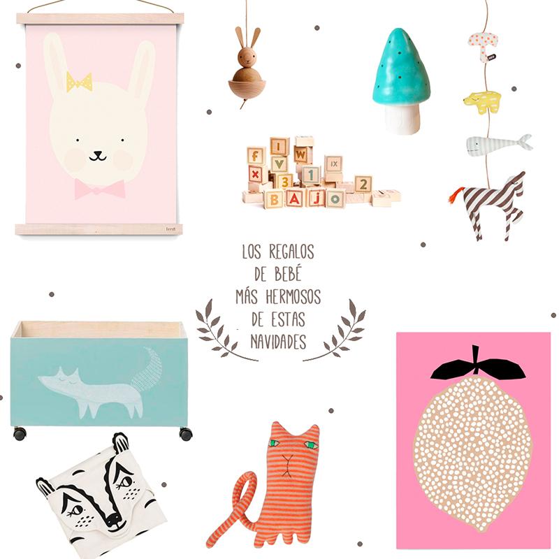 regalos de bebé más hermosos de estas Navidades