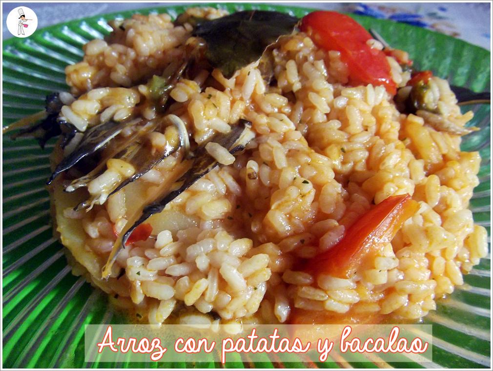 La cocina de mari nuri let 39 s cook arroz con patatas for Cocina bacalao con patatas