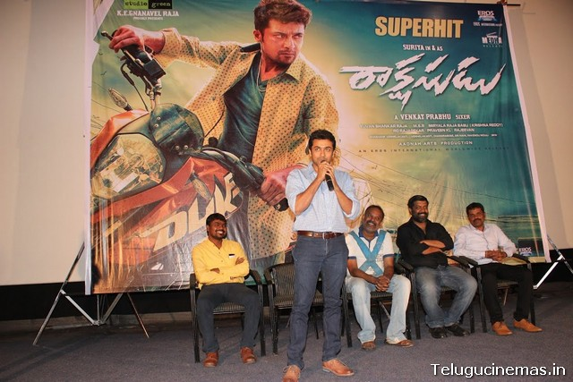 Rakshasudu Success meet Photos