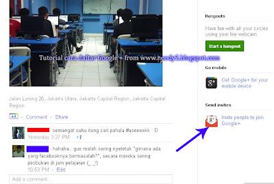 cara daftar dan transfer akun facebook teman ke Google + Plus
