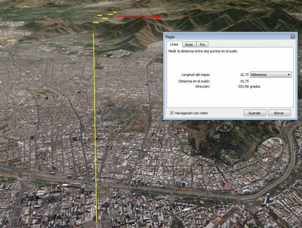 UFO mothership over santiago de chile