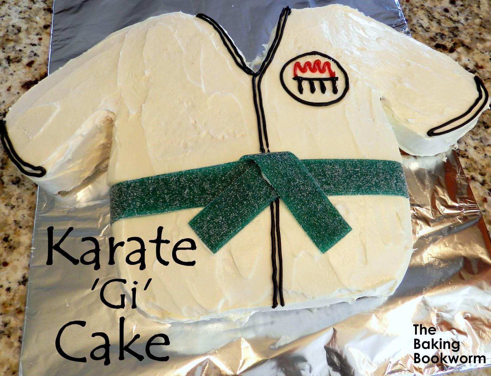 Karate Jacket Cake