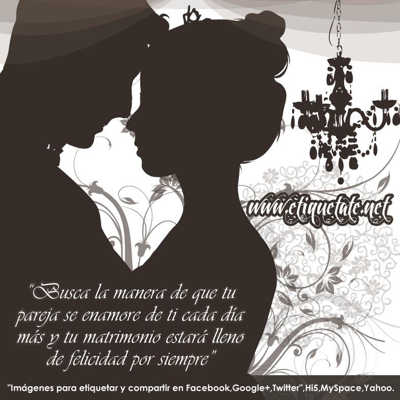imagenes con frases para felicitacion de bodas para etiquetar en