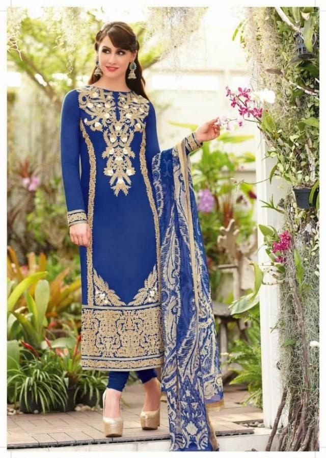 Fashion Style Best Indian Pakistani Shalwar Kameez Dresses Formal Salwar Kameez Suits For