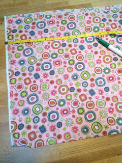 fabric, flowers, lining, sewing, measure