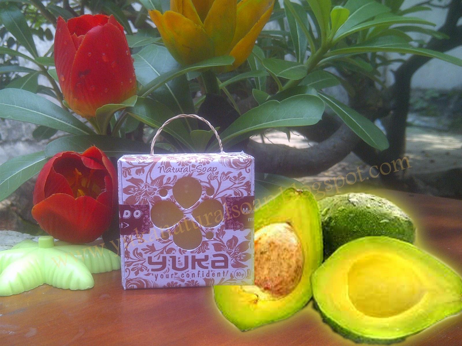 Sabun Yuka Herbal Muka 100 Alami Non Alkhohol Kesehatan Detergent Avocado Alpukat