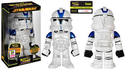 San Diego Comic-Con 2015 Exclusive Star Wars 501st Clone Trooper Hikari Sofubi Vinyl Figure by Funko