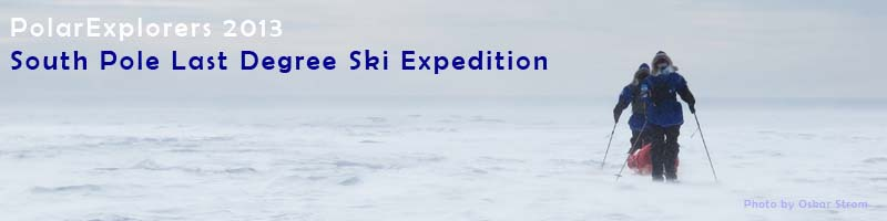 PolarExplorers 2013 South Pole Ski Expedition