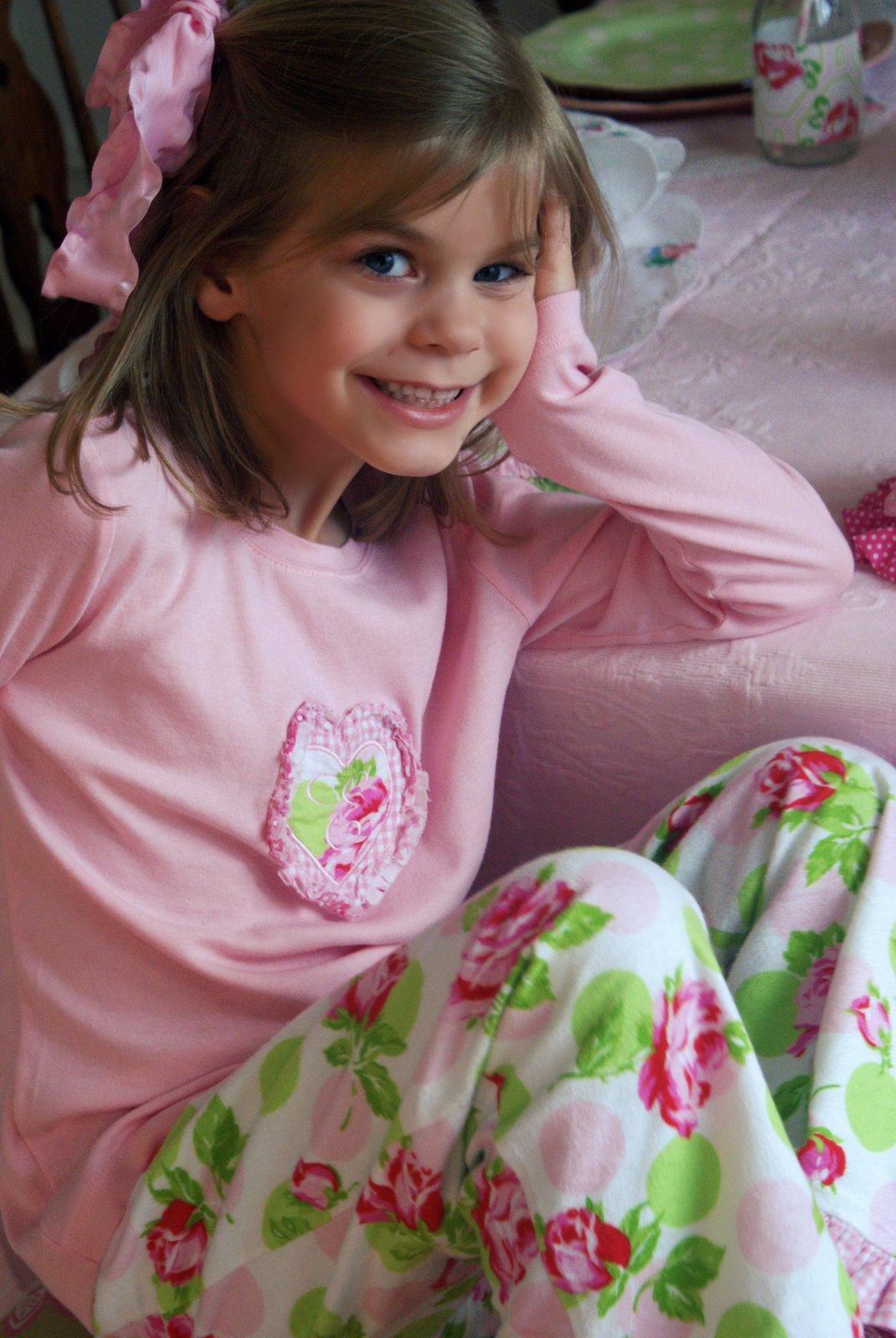 A Little Loveliness Custom Pajama Party