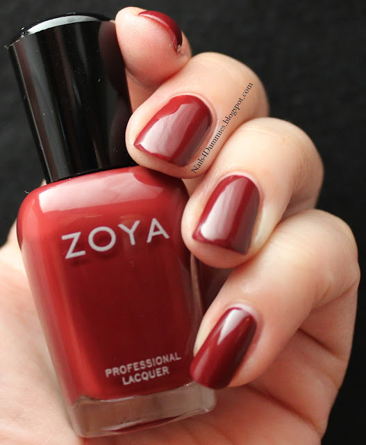 Nails4Dummies - Zoya Fall 2013 Cashmeres - Pepper
